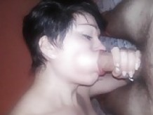 sucking my young strai8 neighbor 20 yo (not cum)
