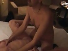 cuckold hubby films wife with big white cock