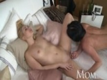 MOM Mature Olivia brings home a young hottie