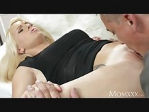 MOM Mature Blonde Beautys Cougar Pussy Penetrated With A Big Hard Cock