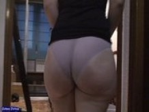 hot big white ass