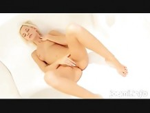 Dido Angel Luxuriously LLounges And Masturbate