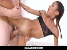 Small Teen Kendall Woods Fucked By Big Cock