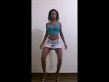 Brazilian Dancer-Jean Skirt 1080p