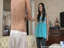 DOUBLEVIEWCASTING - ISABEL CAN'T ESCAPE COOL FUCKING