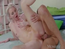 MOM Deeply intimate romantic oral and fuck in all positions with hot MILF