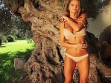 Sexy girl strips by The Tree Of Beauty