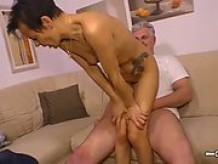 housewife mature german is fucked hard