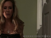 Brandi Love Swaps Blow Job For Hiding Place