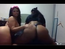 Two Latinas With Huge Asses Dancing