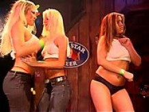 Sexy girls getting wild at a contest