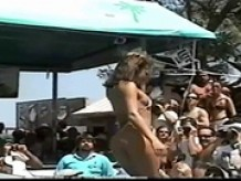 BIKINI CONTEST - Party Naked In Public