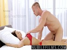 NubileFilms - Russian babe's first time anal massage