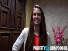 PropertySex - Real estate agent fucks film producer client